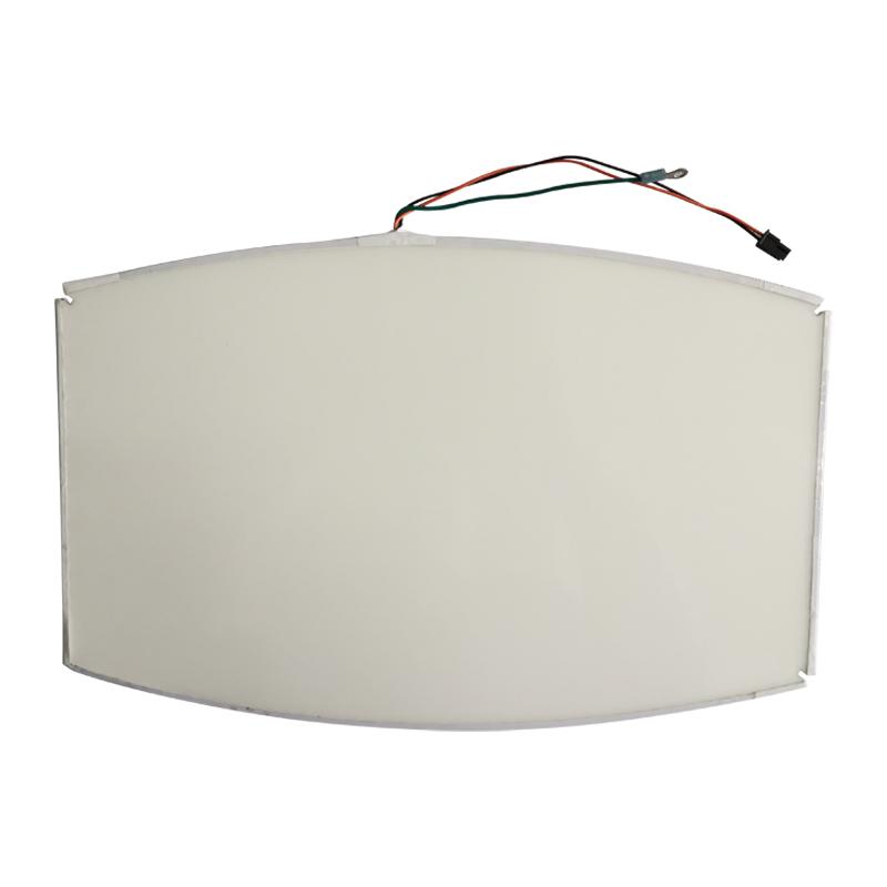 RS886-A02-00 353mm*231.8mm shielding LED edge-lit Plate No. 58101600