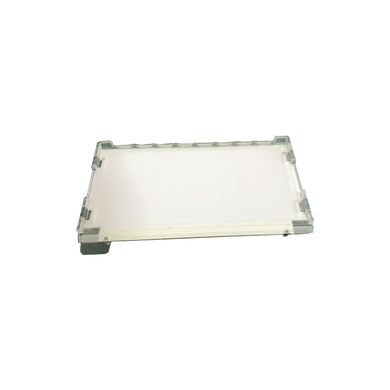 Integrated LED Edge-lit Plate with Installation Brackets